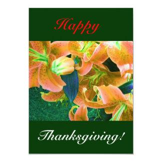 Happy Thanksgiving I 13 Cm X 18 Cm Invitation Card