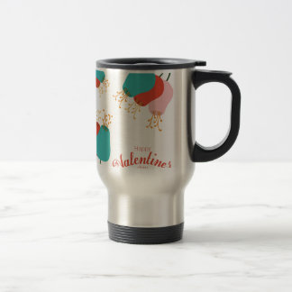 happy the Valentins day Stainless Steel Travel Mug