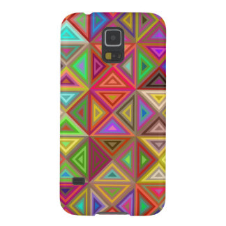 Happy triangle mosaic cases for galaxy s5