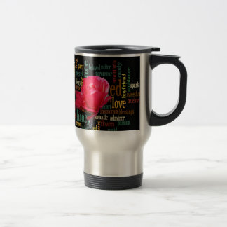 happy valentine in style.png stainless steel travel mug