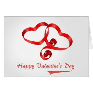 "Happy Valentine's Day ""blank"" Greeting Card"