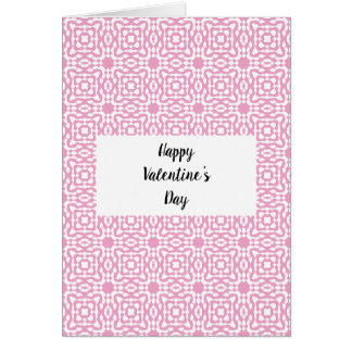 Happy Valentine's Day Card With yplusy Patterns!