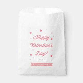 Happy Valentine's Day Favor Bag Favour Bags