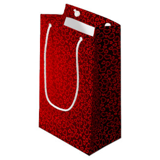 happy valentines day small gift bag