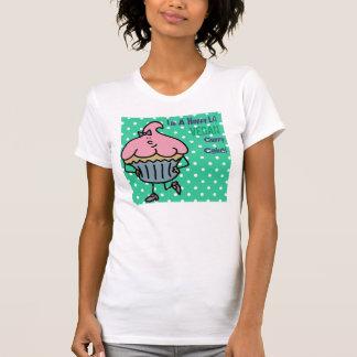Happy Vegan Lil' Miss Cuppy Cake Shirt