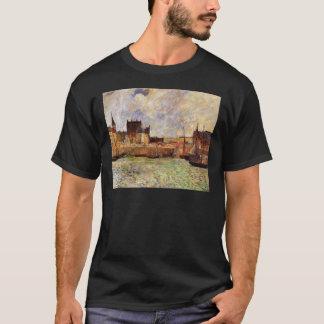 Harbour Scene, Dieppe by Paul Gauguin T-Shirt