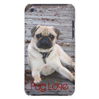 Hard Shell Pug love iPod Touch Case