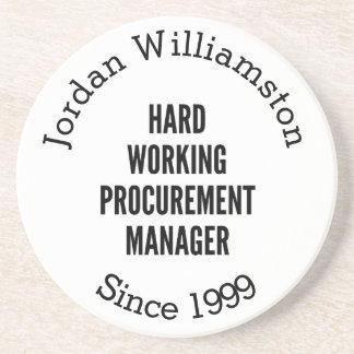 Hard Working Procurement Manager Coaster