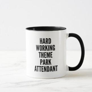 Hard Working Theme Park Attendant