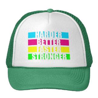 harder better faster cap