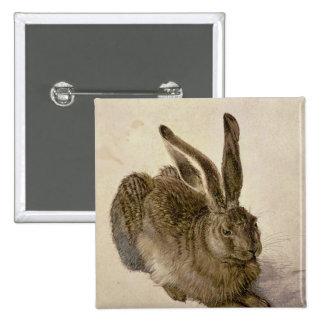 Hare, 1502 15 cm square badge