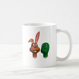 Hare and Tortoise01 Basic White Mug