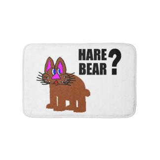 Hare Bear? Bath Mat