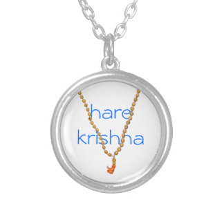 Hare Krishna Chanting Beads Necklace