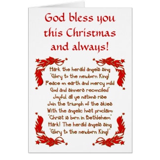 Hark the herald Angels sing... Greeting Card