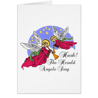 Hark! The Herald Angels Sing Greeting Card
