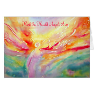 Hark the Herald Angels Sing Note Card