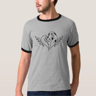 Harl Great Dane with Wings T-Shirt