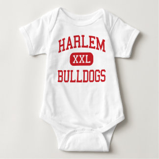 Harlem - Bulldogs - High School - Harlem Georgia Baby Bodysuit
