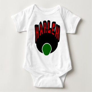 Harlem Graffiti With Face & Big Afro, 3 Colors Baby Bodysuit