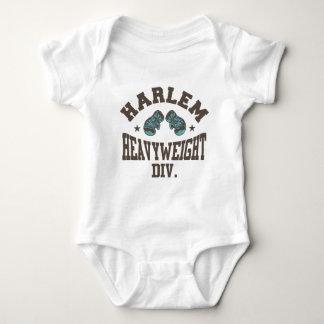 Harlem Heavyweight Mocha Baby Bodysuit