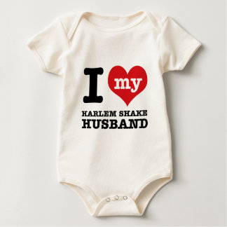 Harlem Shake dance husband Baby Bodysuit