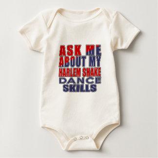 HARLEM SHAKE.png Baby Bodysuit