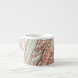 Harlem, Yonkers, Pelham Manor, New York Espresso Cup