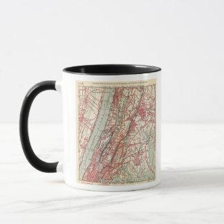 Harlem, Yonkers, Pelham Manor, New York Mug