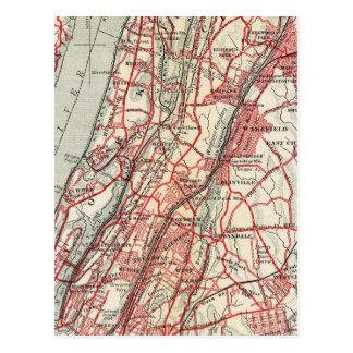 Harlem, Yonkers, Pelham Manor, New York Postcard