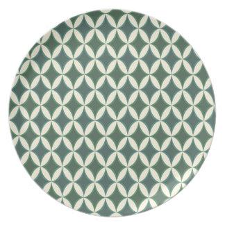Harlequin Argyle Ocean Dinner Plates