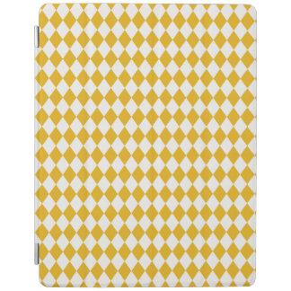 Harlequin Mustard Off White iPad 2/3/4 Cover Cover