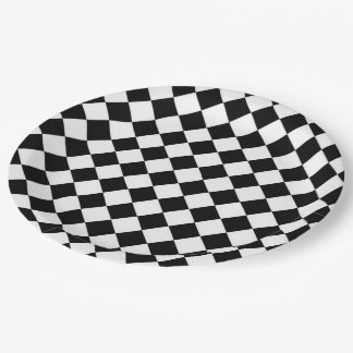 Harlequin Paper Plate