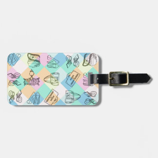 Harlequin Paris Shopping Bag Tag