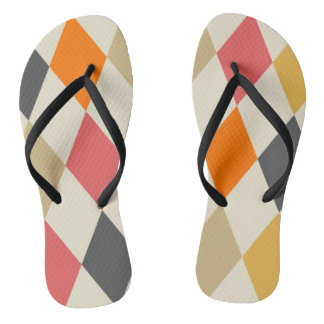 Harlequin Style Jandals
