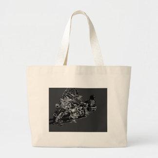 harley2. large tote bag