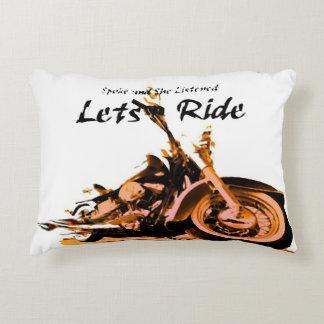 Harley Davidson Spokes Decorative Cushion