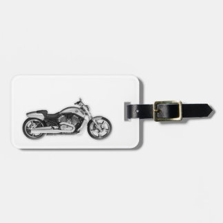 Harley Motorcycle 3D Fashion Accessory Luggage Tag