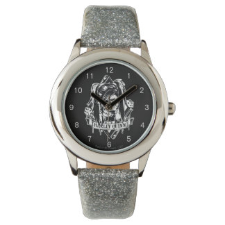 Harley Quinn Badge Watch