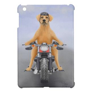 Harley riding Labrador iPad Mini Covers