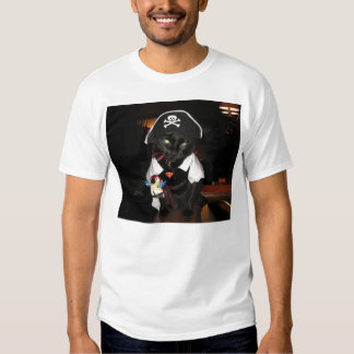 Harley the pirate cat t shirt