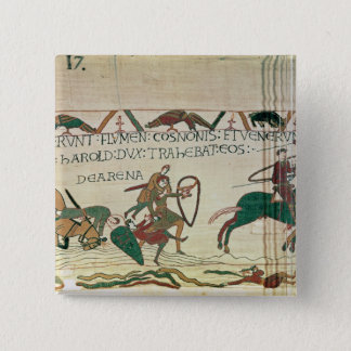 Harold Drags Soldiers from the Quicksand 15 Cm Square Badge