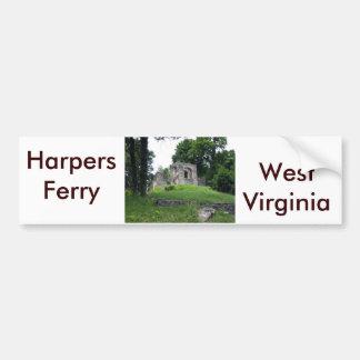 Harpers Ferry, West Virginia Car Bumper Sticker