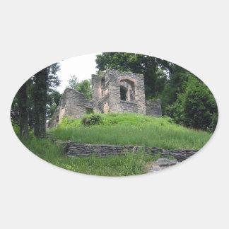 Harpers Ferry, West Virginia Oval Sticker