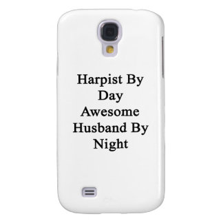 Harpist By Day Awesome Husband By Night Galaxy S4 Case