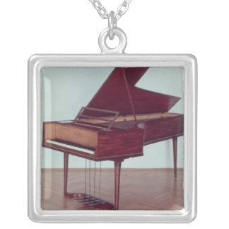 Harpsichord belonging to Ludwig van Beethoven Silver Plated Necklace