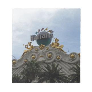Harrah's Las Vegas Notepad