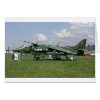 Harrier Jet Card