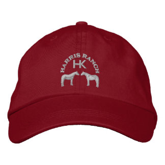 Harris Ranch Gray Logo Embroidered Hat