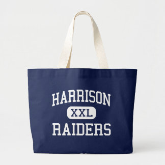 Harrison - Raiders - High - West Lafayette Indiana Large Tote Bag